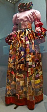 Adolfo evening dress (1967)
