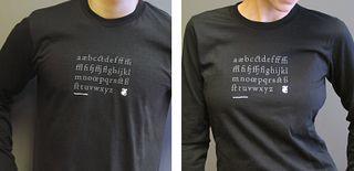 Typographer's Alphabet